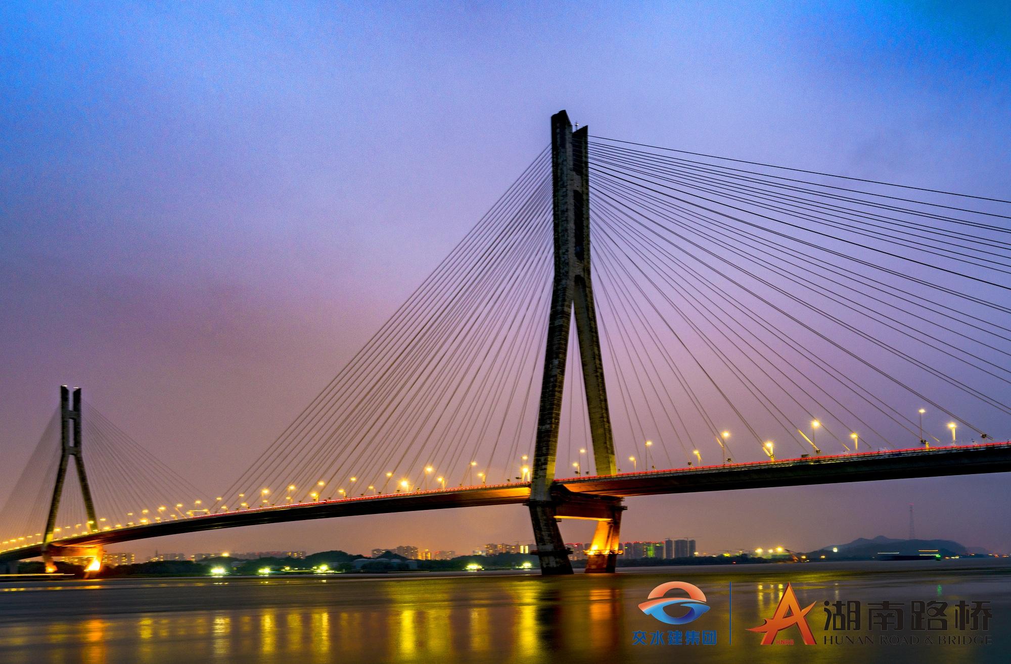 南京长江大桥夜景  贺大同_logo.jpg